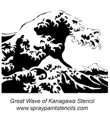 printable printable wave stencil
