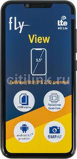 Купить Смартфон <b>FLY View</b> 8Gb, <b>черный</b> в интернет-магазине ...