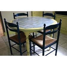 Table Carrelee Cuisine Table Cuisine Ronde Bois Et Carrelage Table