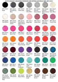 Coloured Acrylic Polymer Powder Acrylic Nail Products