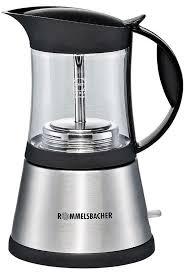 <b>Кофеварка</b> гейзерная электрическая <b>Rommelsbacher EKO 376</b>/<b>G</b> ...
