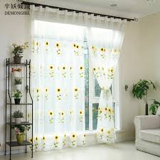 Yellow Curtains For Living Room Sheer Yellow Curtains Promotion Shop For Promotional Sheer Yellow