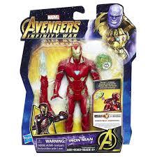 Aos ghost rider (reyes), spaceknight venom, gotg 1 gamora, ragnarok. Marvel Avengers Infinity War Iron Man 6 Action Figure With Stone Damaged Package Hasbro Toys Toywiz