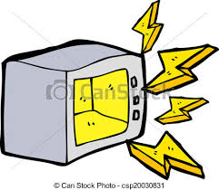 microwave clipart. vector - cartoon microwave clipart p