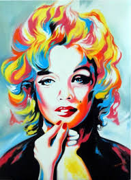 hector monroy signed marilyn monroe 24x32 original oil painting on canvas pa loa