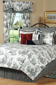 toille duvet covers by victor mill blue toile duvet cover king