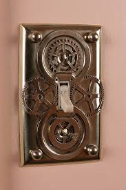 cool switch plate covers. Brilliant Covers VIEW IN GALLERY Steampunk Light Switch Plate For Cool Switch Plate Covers A