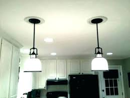 how to replace recessed ceiling light round led fixture conversion kit lighting can changing converting