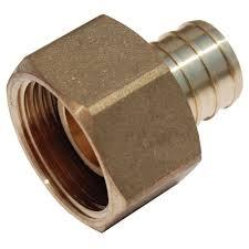 garden hose adapter. Brass PEX Barb X Female Swivel Adapter Garden Hose C