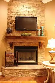 future fireplace mantle for porch