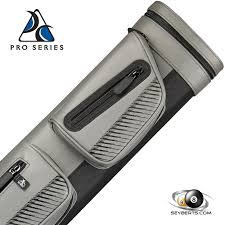 pro series 2x4 grey and black pool cue case