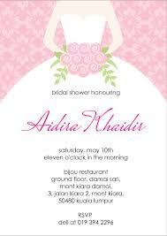 Wedding Shower Invitations Wording Examples