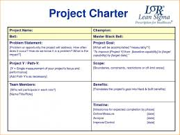 project charter sample project charter examples example template cooperative although