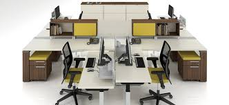 combined office interiors desk. Office Furniture Combined Interiors Desk A
