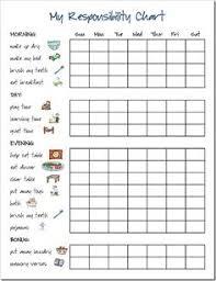 Behaviour Reward Charts For 8 Year Olds 17 Best Responsibility Chart Images Responsibility Chart