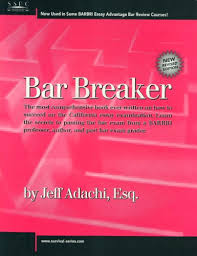 essay exam california bar examination lawguides at santa clara  bar breaker by jeff adachi
