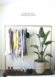 diy wooden clothes rack awesome garment clothing rack in honor of design regarding building a clothes