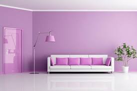 lavender wall paintPainting Ideas for Living Room