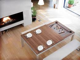Eating Table Useful Dining Room Pool Table Combo For Small Home Remodel Ideas