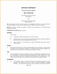 Simple Service Contract 037 Simple Service Agreement Template Lovely Level Download