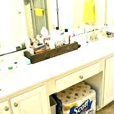 countertop bathroom storage vanity bathroom countertop linen cabinet