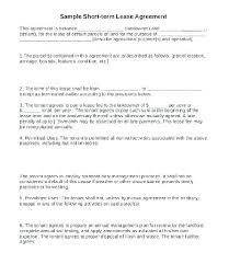Free Simple Lease Agreement Form Impressive Free Simple Commercial Lease Agreement Template Appinstructorco