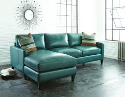 Living Room With Sectional Sofas Turquoise Leather Sectional Sofa For Living Room With Sun Wall
