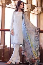 New Design Pakistani Dresses 2017 Unstitched Summer Lawn Pakistani Eid Suit By Zeen Women 2019