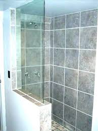 glass block shower enclosures wall panels for shower enclosures shower glass block shower wall home depot