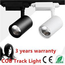 track rail lighting. LED Rail Lighting 20W 30W COB Track Light Black/White Shell Ceiling Lamps Spotlight Projection Lamp Wall Led Cob