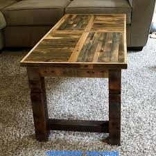 40 diy recycled pallet coffee table designs
