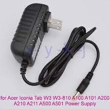 1 CÁI 12V 1.5A Sạc Máy Tính Bảng dành cho Máy Tính Bảng Acer Iconia Tab W3  W3 810 Aspire Switch 10 A100 A101 A200 A210 a211 A500 A501 Điện Phích Cắm