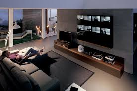furniture for modern living. Bonanza Bedroom Media Center Flat Front Modern Wood With Wall Unit Interior Design Furniture For Living
