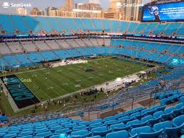 Carolina Panthers Seating Chart With Rows Carolina Panthers Seating Chart Map Seatgeek