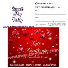 Holiday Gift Certificates Christmas Gift Certificates Holiday Gift Certificate Holiday