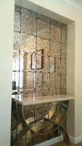 antique glass mirror mirrored subway tiles luxury mercury best