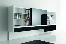 Sophisticated Storage Idea: Newind Wall Unit by Acerbis. A modern wall unit  that is stylish, compact, and elegant by designers Oscar and Gabrielle  Buratti.