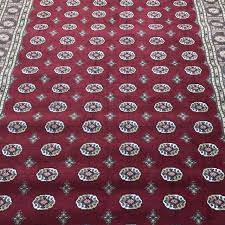 vintage faux silk area rug made in belgium persian isphahan style 160x230 cm for