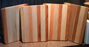 vermont hardwood maple and black cherry cutting boards 10 3 4 inches x 15 inches x 1 in thick 39 00 each