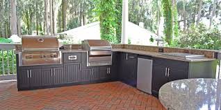 outstanding outdoor kitchens tampa ideas also florida images premium polymer kitchen black photo gallery