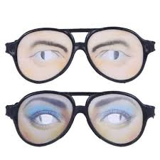 <b>Halloween</b> Funny <b>Men</b> and Women Glasses Tricky <b>Pattern</b> Party ...