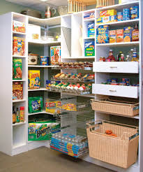 Kitchen Storage Shelves Ideas Decorating Fascinating Kitchen Pantry Organization L Shelves