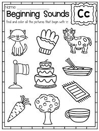 Beginning sounds Worksheets for Kindergarten 34 Recent Beginning ...