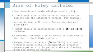 French Size Chart Catheter Catheters