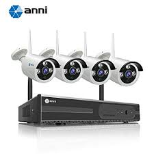 Amazon.com : Anni 4CH 720P HD <b>Surveillance</b> System, <b>Wireless</b> ...