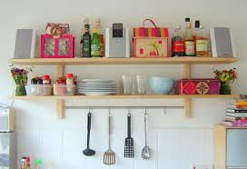 Shelf For Kitchen Kitchen Wall Shelves For Dishes Bingewatchshowscom