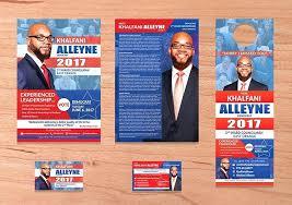 Political Campaign Brochure Template Flyer 5 Templates Free Tri Fold