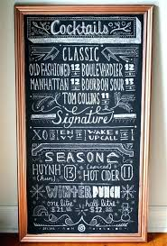 Chalkboard Menu Templates Chalkboard Menu Template Printable Naomijorge Co