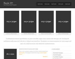 Basic Free Html5 Templates Page 1 Of 11 Total Of 94