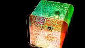 designer edge lighting. For The Alysse Pendant Lamp, Polychromatic, LED-infused Acrylic Panels Were Slotted Together Designer Edge Lighting